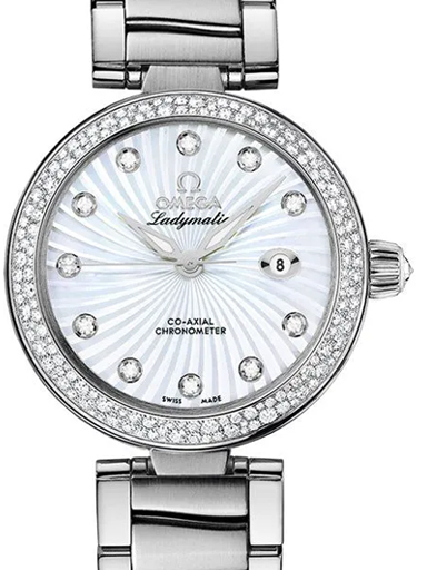 Omega De Ville Ladymatic Co-Axial Diamonds Watch-O42535342055001