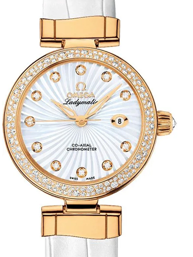 Omega De Ville Ladymatic Co-Axial 34 MM Women's Watch-O42568342055002