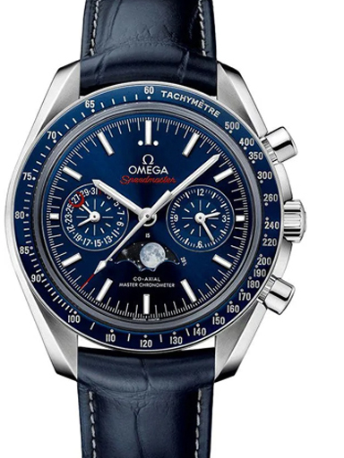 Men's Omega Speedmaster Moonphase Chronograph  Watch-O30433445203001