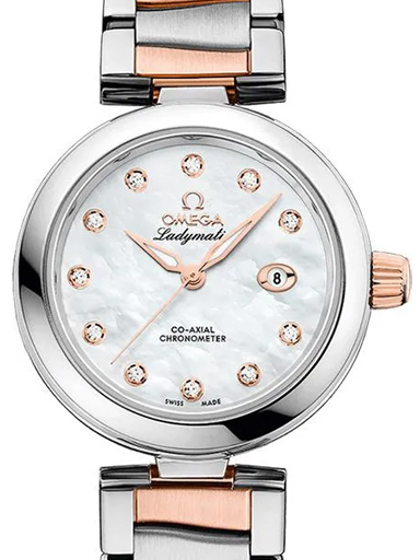 Omega De Ville Ladymatic Diamonds Women's Watch-O42520342055004