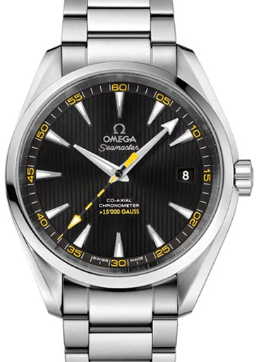 Omega Seamaster Aqua Terra Black Dial Men's Watch-O23110422101002
