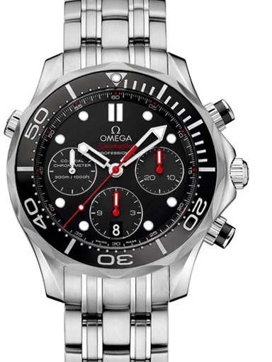Omega Seamaster Diver Automatic Chronograph Men's Watch-O21230445001001