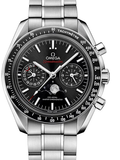 Omega Speedmaster Moonphase Chronograph Watch-O30430445201001
