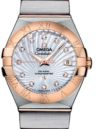 Omega Constellation Co-Axial 27 MM Automatic Women's Watch-O12320272055001