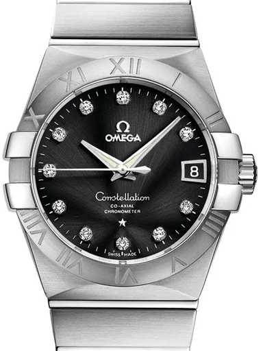 Omega Constellation Chronometer 38 MM Men's Watch-O12310382151001