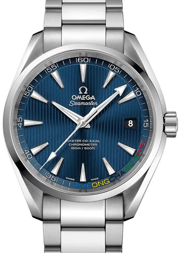 """Omega Seamaster Specialities """"PyeongChang 2018"""" Limited Edition Men's Watch-O52210422103001"""