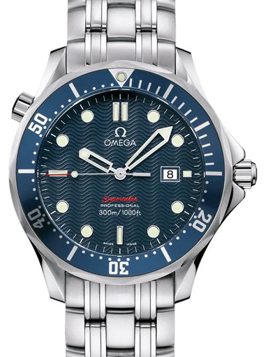 Omega Seamaster Automatic Chronometer Blue Dial Men's Watch-O22218000