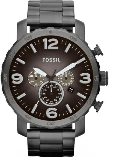 fossil nate chronograph men's watch-JR1437I