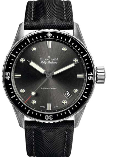 Blancpain Fifty Fathoms Bathyscaphe  Men's Watch-N05000O011010NB52A