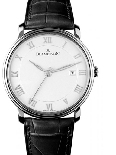 blancpain villeret ultra slim 40 mm men's watch-N06651O011027N055B