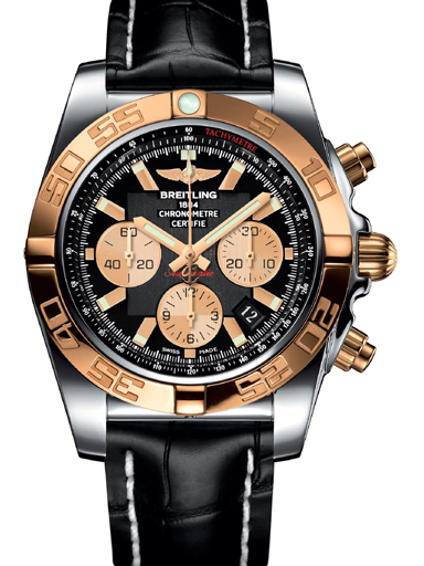 Breitling Chronomat Chronograph Men's Watch-CB011012/B968/744P