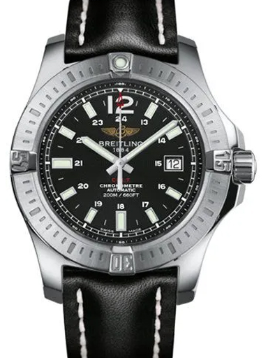 Breitling Colt Automatic Leather Watch-A1738811/BD44/436X/A20D.1
