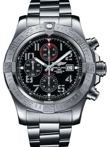 Breitling Super Avenger II Steel Volcano Black Watch-A1337111/BC28/168A
