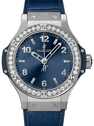 Hublot Big Bang Steel Blue Diamonds-361.SX.7170.LR.1204