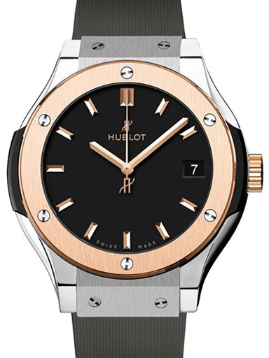 Hublot Classic Fusion Titanium King Gold Women Watch-581.NO.1181.RX