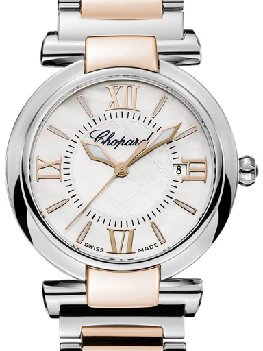 Chopard Imperiale Quartz Steel & Gold Women's Watch-388541-6002