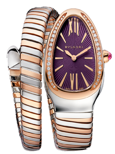 Bvlgari Serpenti Women's Purple Dial Watch-102493