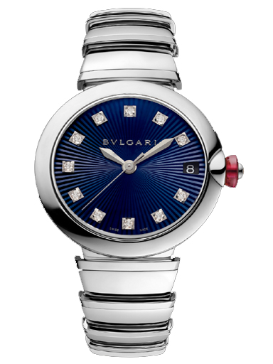 Bvlgari Lvcea Blue Dial Automatic Watch-102564