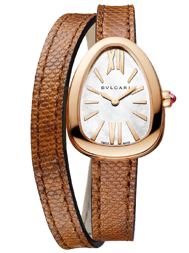 Bvlgari Serpenti Silver Dial Women's Watch-102919