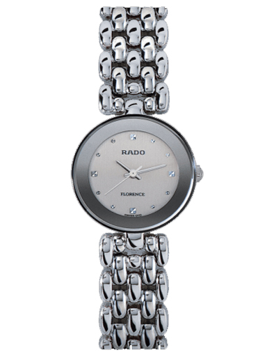 Rado Florence Stainless Steel Silver Dial Women's Watch-R48744103