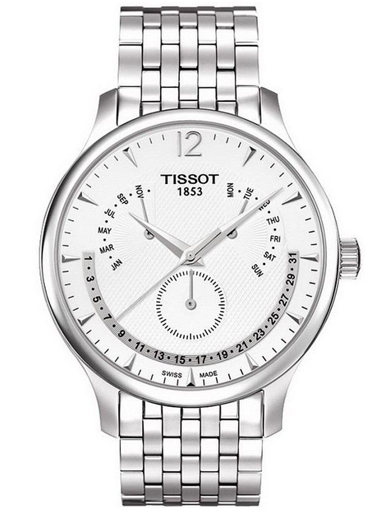 Tissot T-Classic Tradition Perpetual Calendar Men's Watch-T0636371103700