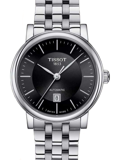 Tissot T-Classic Automatic Women's Black Dial  Watch-T1222071105100
