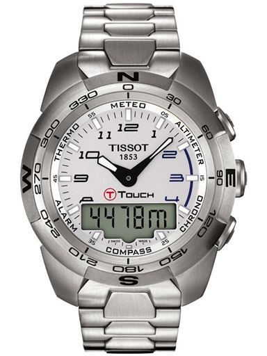 Tissot T-Sport T-Touch Expert Alarm Chronograph Men's Watch-T0134201103200