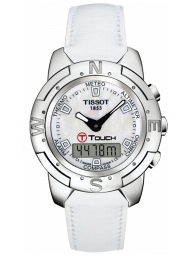 Tissot T-Touch Titanium Alarm Chronograph Men's Watch-T33765881