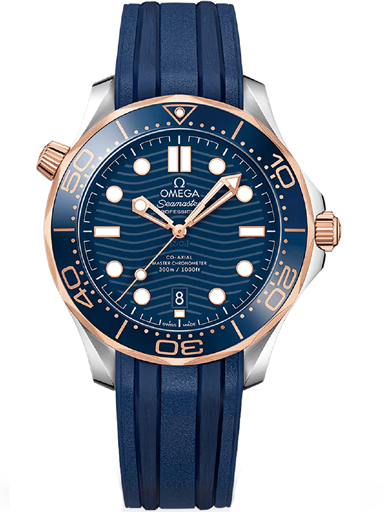 Omega Seamaster Automatic Blue Dial Men's Watch-O21022422003002