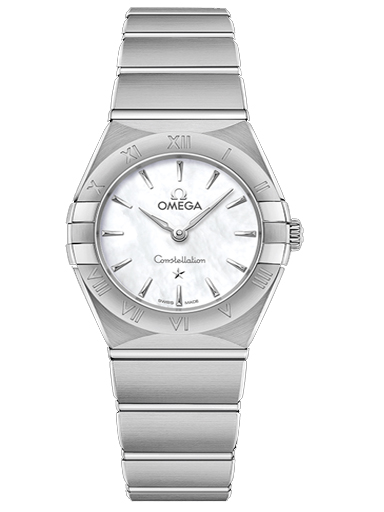Omega Constellation Steel Quartz 25 MM Women's Watch-O13110256005001