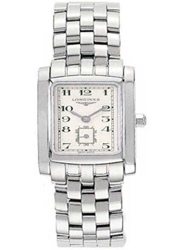 longines dolce vita white dial stainless steel ladies watch-L5.155.4.73.6