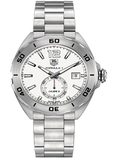 TAG Heuer Formula 1 Automatic White Dial Men's Watch-WAZ2111.BA0875