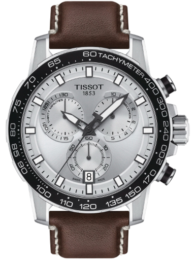 Tissot T-Sport Supersport Chrono Collection Silver Dial Men's Watch-T1256171603100