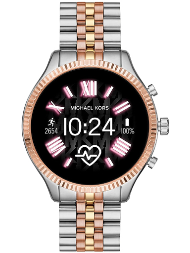 michael kors gen 5 access  lexington 2 touchscreen  stainless steel  smartwatch-MKT5080