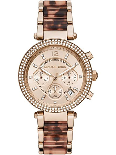 Michael Kors Analog Gold Dial Women's Watch-MK6832-MK6832I