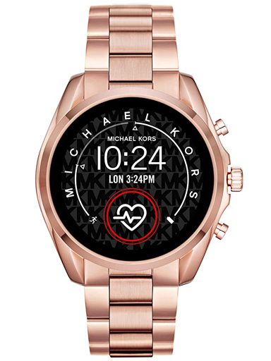 Michael Kors Gen 5 Access Bradshaw 2 Touchscreen Stainless Steel Smartwatch-MKT5086