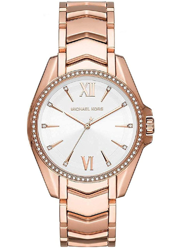 Michael Kors Whitney White Dial Quartz Watch-MK6694I