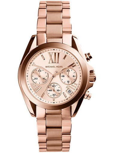 Michael Kors Analog Rose Dial Women's Watch - MK5799I-MK5799I