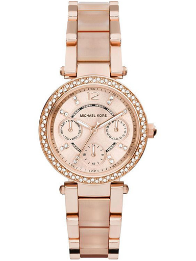 michael kors watches mini parker multifunction stainless steel watch-MK6110I