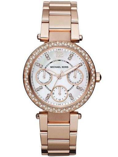 Michael Kors Parker Womens Quartz Day-Date Wrist Watch-MK5616I