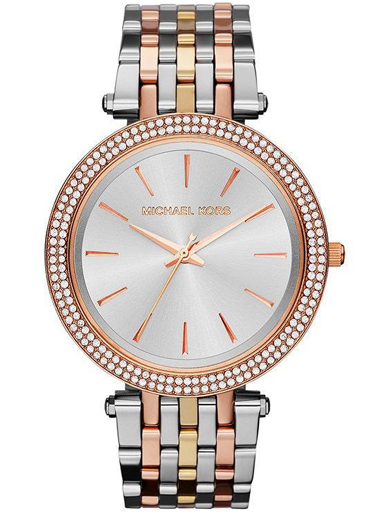 Michael Kors Analogue Silver Dial Women's Watch-MK3203I