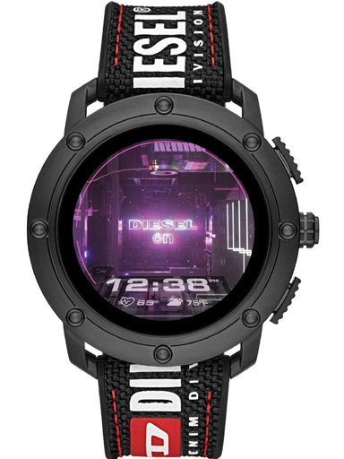 Diesel Axial Digital Black Dial Men's Watch-DZT2022-DZT2022