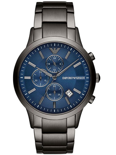Armani Renato Chronograph Quartz Blue Dial Men's Watch-AR11215I
