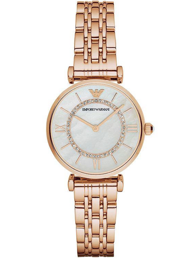 Emporio Armani Donna Mother Of Pearl Ladies Watch-AR1909I