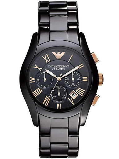 emporio armani ceramic chronograph men's watch-AR1410I