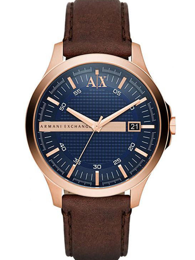 Armani Exchange Hampton Analog Blue Dial Men's Watch - AX2172-AX2172I