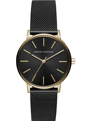 Armani Exchange Womens Black Dial Analogue Watch - AX5548I-AX5548I