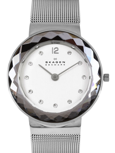 skagen leonora steel-mesh watch-456SSSI