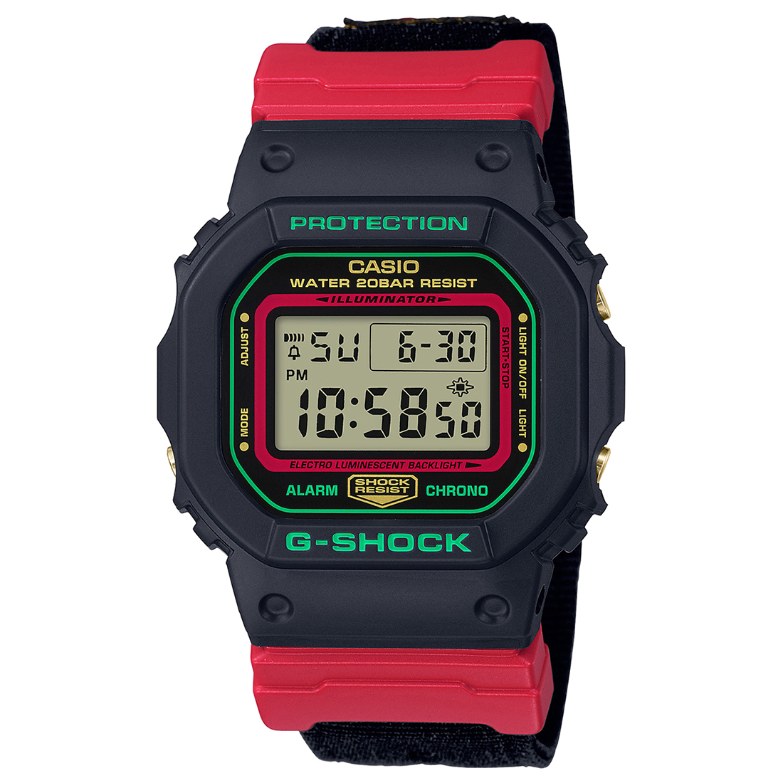 G1008 DW-5600THC-1DR G-SHOCK WATCH-G1008
