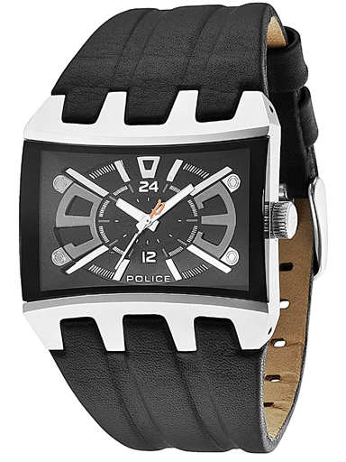 Police Black Dial Men's Watch PL13420JS/02A-PL13420JS/02A